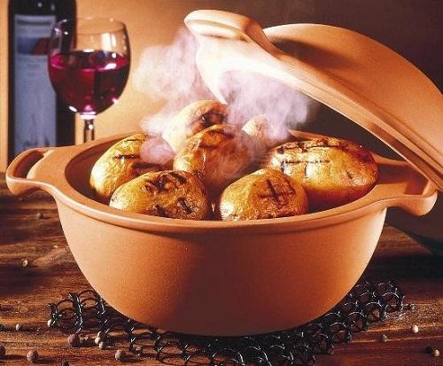 Емкость для запекания картофеля от Roemertopf