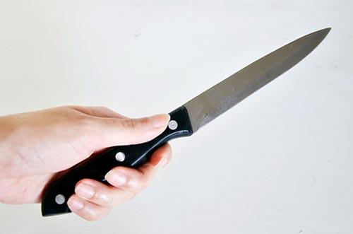 Определите какой тип ножа