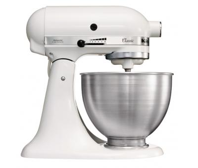 Планетарный миксер, серия Classic, объем: 4,28 л., KitchenAid (США), 5K45SSEWH