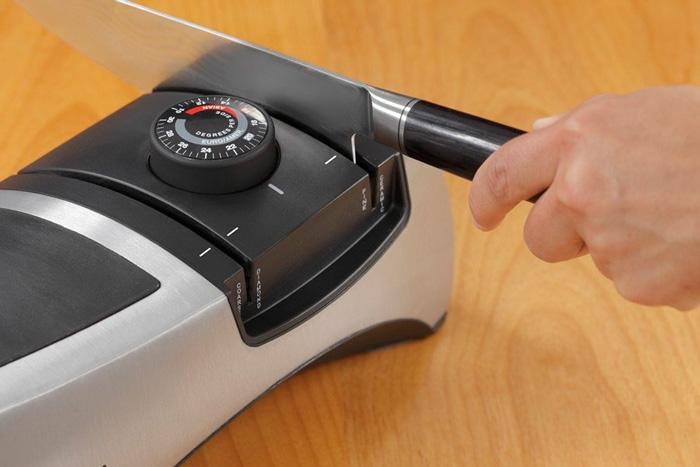 Точилка для ножей с изменяемым углом заточки EdgeWare 50381